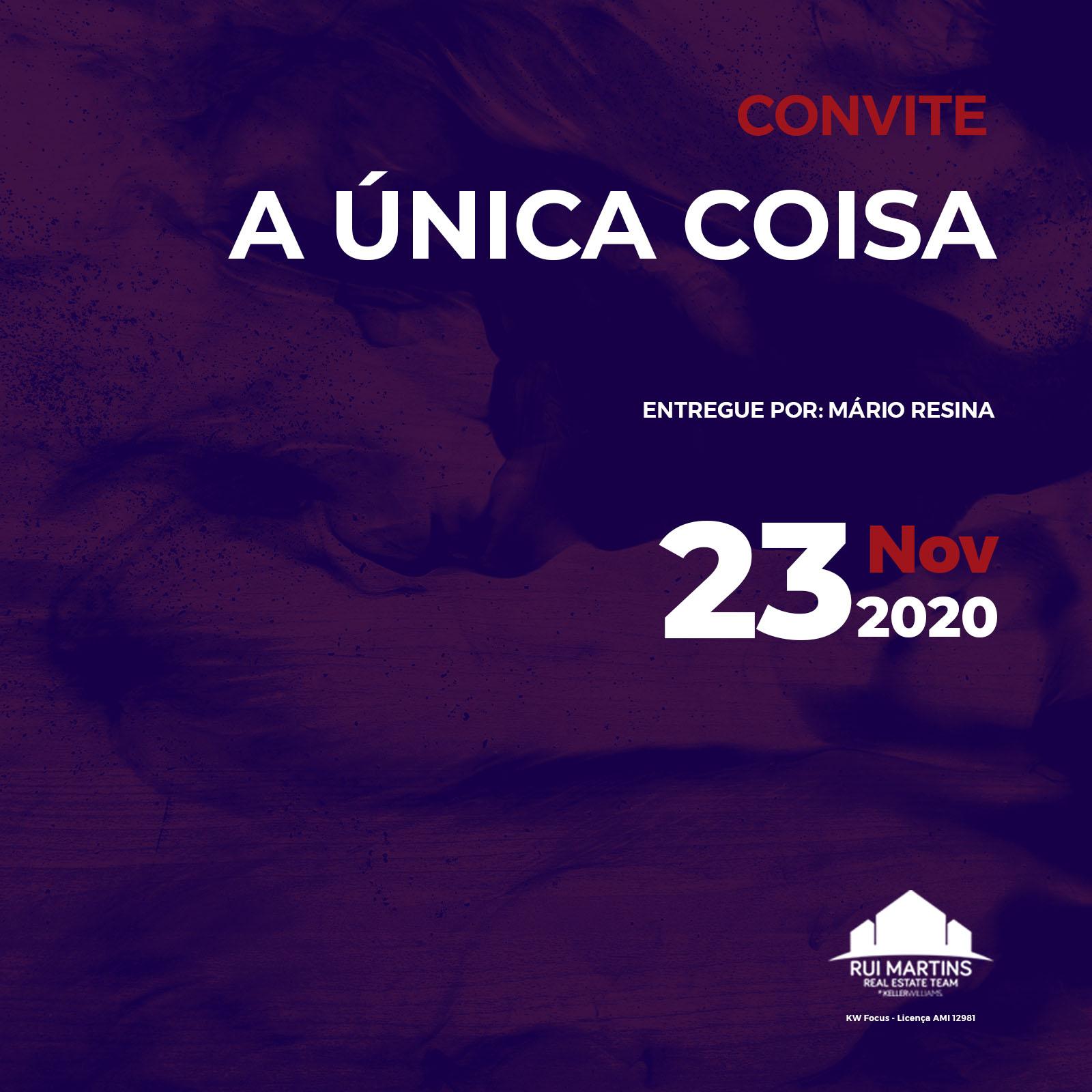 convite evento 23 nov