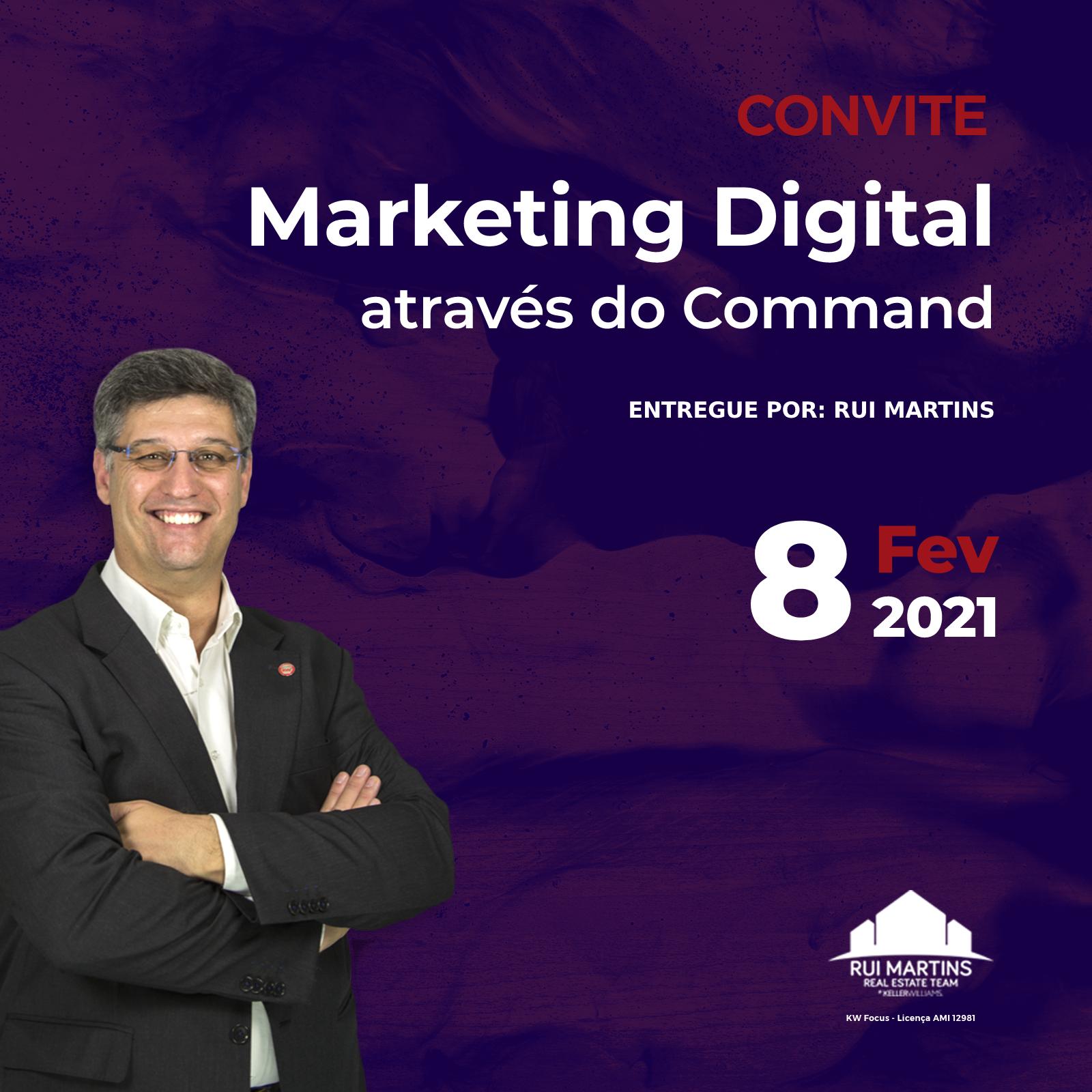 Marketing Digital através do Command