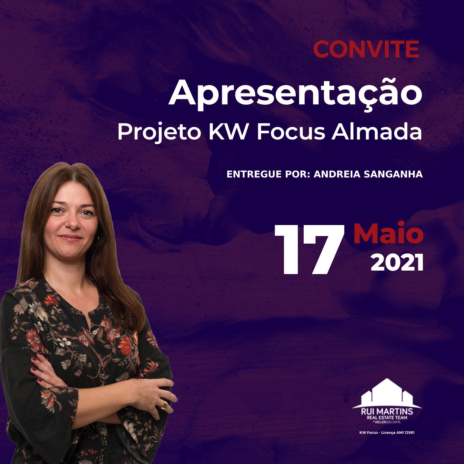Apresentação projeto KW Focus Almada