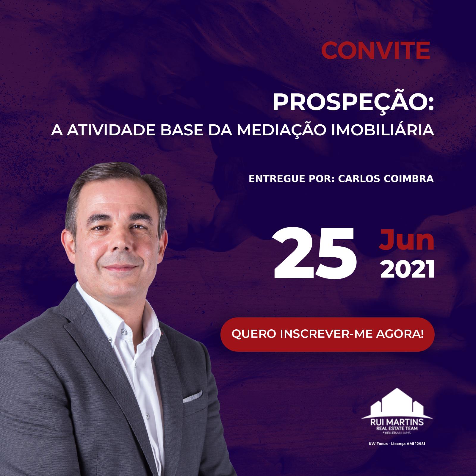 25 junho Carlos Coimbra