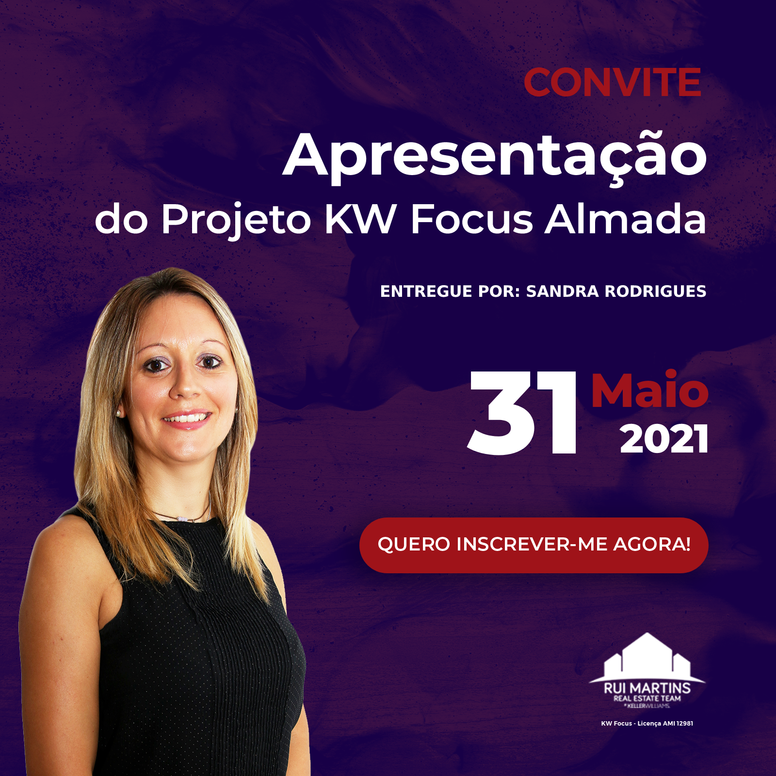 31 maio Sandra Rodrigues